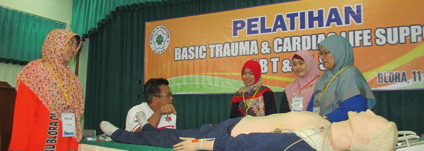 Pelatihan BTCLS di RSUD Dr. R. Soetijono Blora