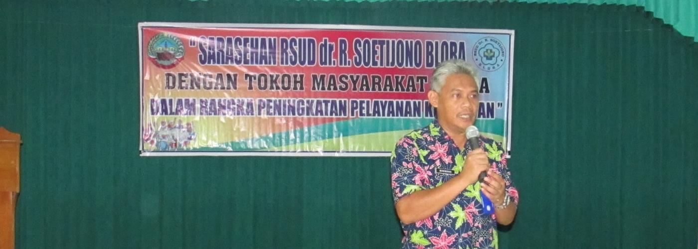 Sarasehan RSUD Dr. R. Soetijono Blora