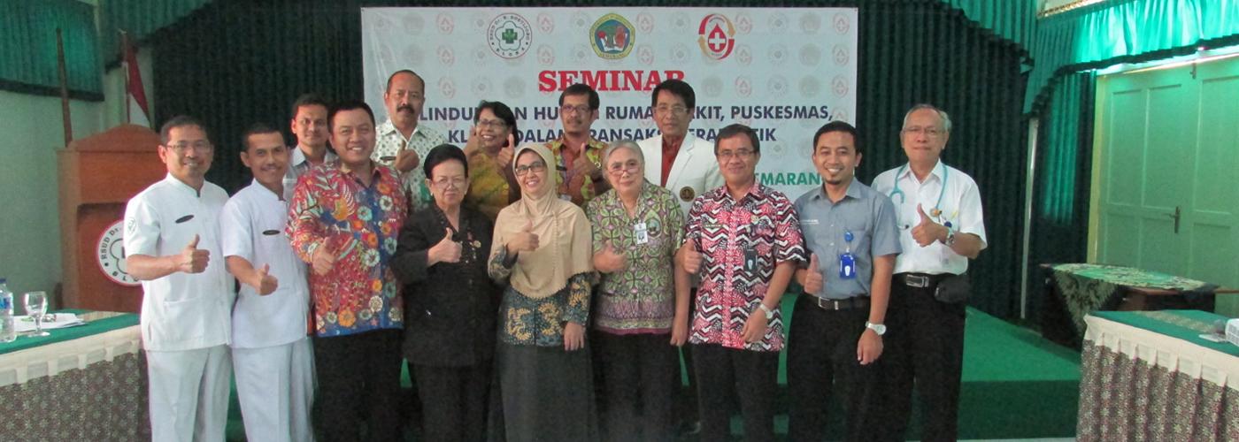 Seminar Perlindungan Hukum Rumah Sakit Dalam Transaksi Terapeutik