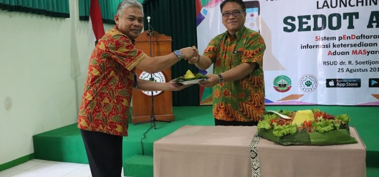 Launching Aplikasi SEDOT A MAS