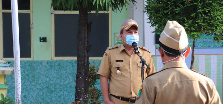 Apel Pagi RSUD dr. R. Soetijono Blora bersama Bupati beserta Wakil Bupati Kabupaten Blora