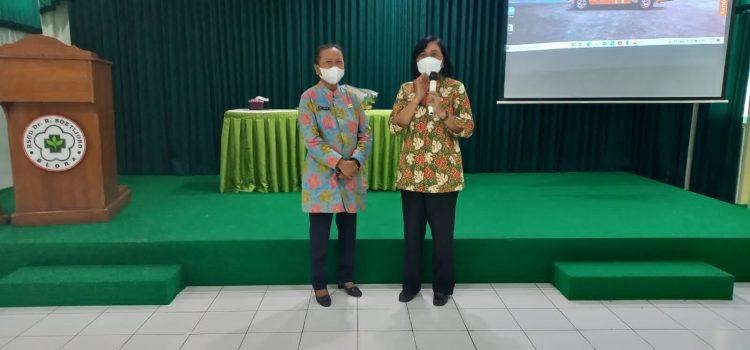 Acara pelepasan purna tugas Ibu Erna Yuliani, SH dan Ibu Siti Aminah